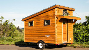 96 sq. ft. Tiny Cabin – The Salsa Box