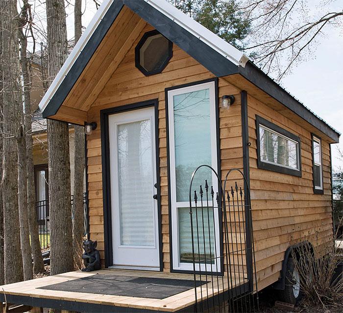 Gorgeous Tiny House On Wheels The Shoebox