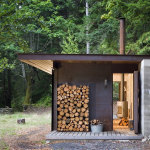 One Room Metal Cabin is a Cozy Island Retreat