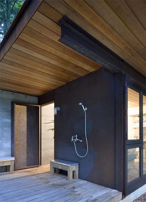 One Room Metal Cabin Is A Cozy Island Retreat