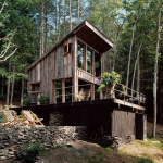 Beautifully Rustic Off Grid New York Cabin