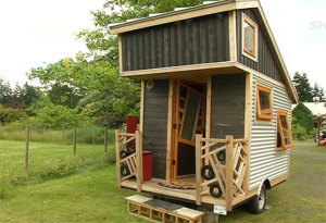 """Gnomadik"" Tiny Portable House Built for $8k"
