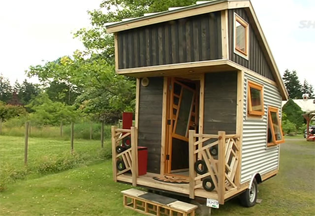 Excellent Gnomadik Tiny Portable House Built For 8K Sustainable Simplicity Largest Home Design Picture Inspirations Pitcheantrous