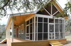 Beautiful 480 Sq Ft Prefab Cabin with Screened Porch