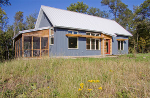 Passive Solar Minnesota House on the Prairie