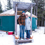 $5k Off Grid Yurt is This Couple's Year Round Home