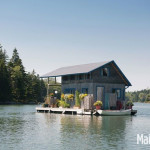 Charming Cabin is a Floating Off Grid Summer Home