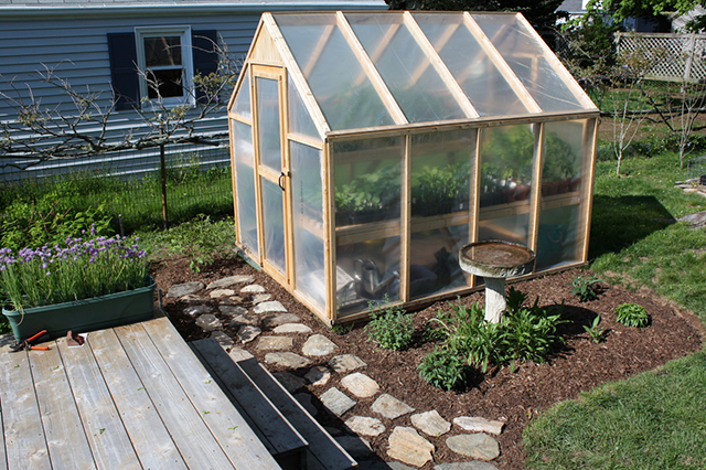 Build a greenhouse for less than 150 for Better homes and gardens greenhouse