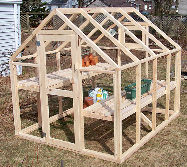 Build A Greenhouse For Less Than 150