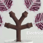 Printed Photovoltaic Trees Harvest Energy From Surroundings