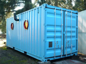 160 Square Foot Shipping Container Home