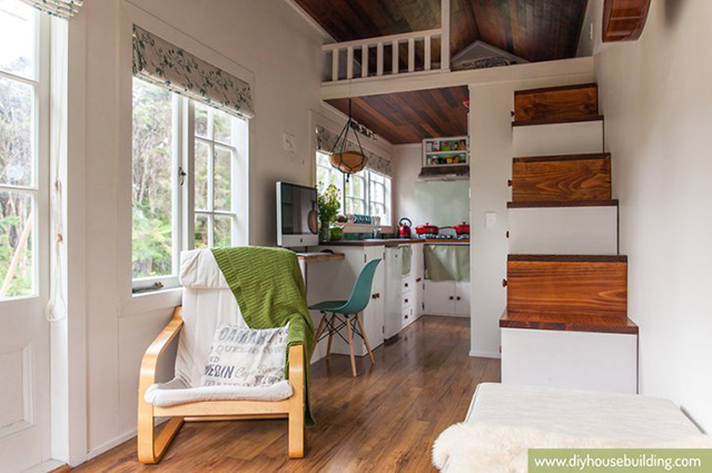 New Zealand Tiny House Ideal For Family Of Three