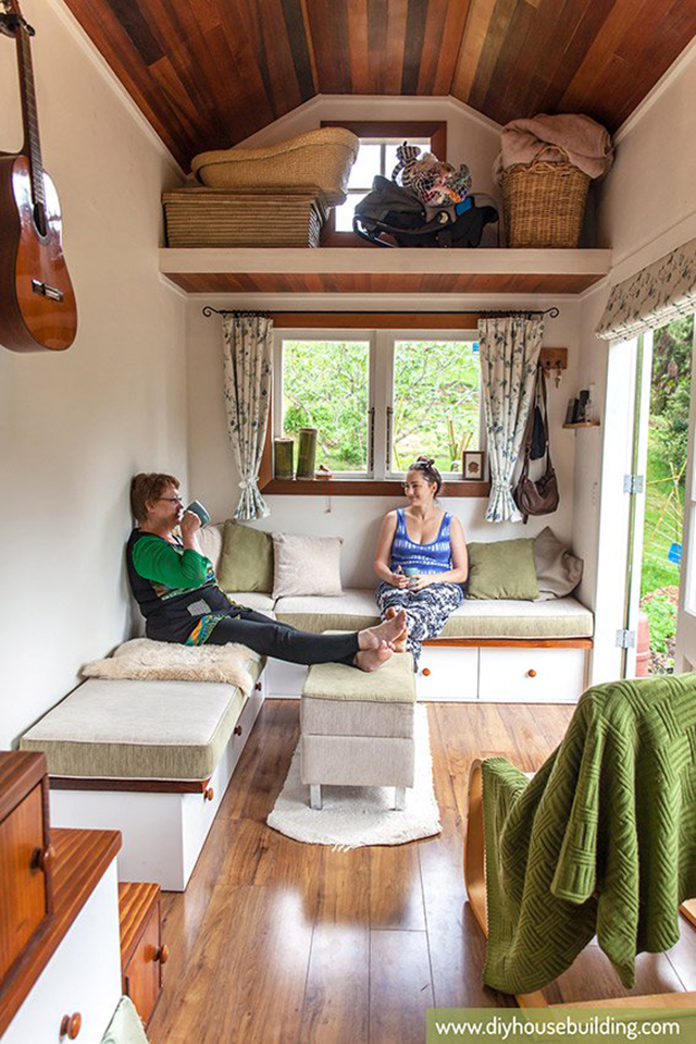 New Zealand Tiny House Ideal for Family of Three