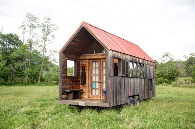 pocket shelter a 200 sq ft mobile tiny house - Tiny House Mobile