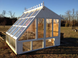 Build A Stunning Greenhouse From Old Windows