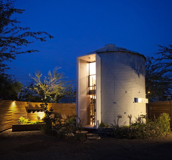 grain silo tiny house 1