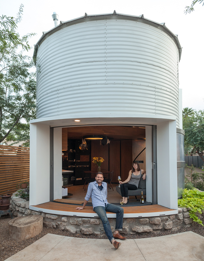 grain silo tiny house 7