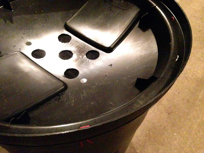 DIY rain barrel 3