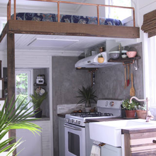 handcrafted tiny house