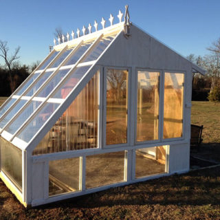 greenhouse from old windows 1